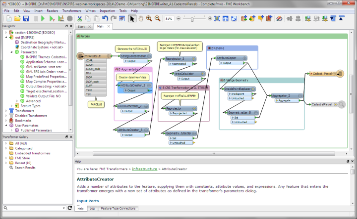 FME Workbench